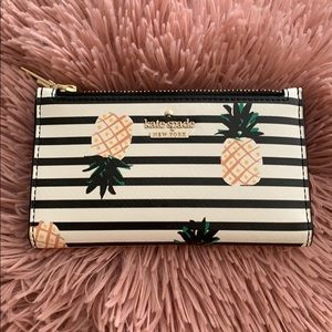 Kate Spade Pineapples Wallet